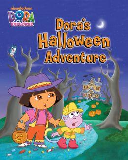 Dora's Halloween Adventure (Dora the Explorer) (PagePerfect NOOK Book)