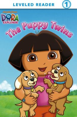 Puppy Twins (Dora the Explorer) (PagePerfect NOOK Book)