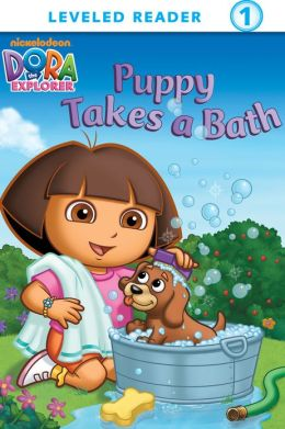 Puppy Takes a Bath (Dora the Explorer) (PagePerfect NOOK Book)
