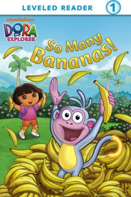 So Many Bananas! (Dora the Explorer) (PagePerfect NOOK Book)