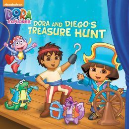 Dora and Diego's Treasure Hunt (Dora and Diego) (PagePerfect NOOK Book)