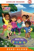 Book Cover Image. Title: Meet My Friends! (Read-Along Storybook Dora and Friends), Author: Nickelodeon Publishing