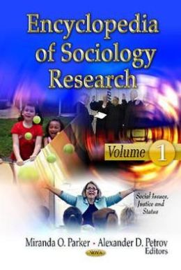 Encyclopedia of Sociology Research: 3 Volume Set