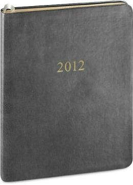2012 Weekly Large Professional Gray Metal Kid Planner Calendar