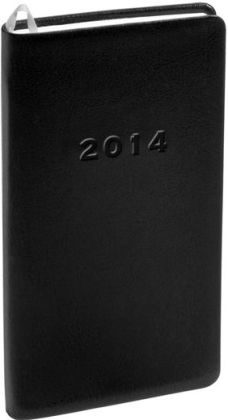 2014 Monthly Pocket Black Cambridge Planner