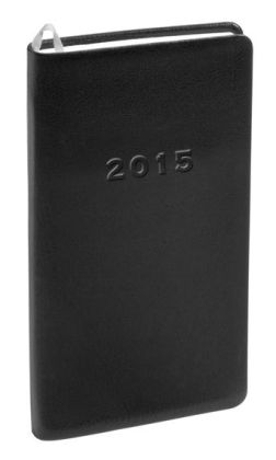 2015 Monthly Pocket Black Cambridge Planner