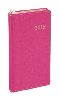 2015 Monthly Pocket Honeysuckle Cartier Planner