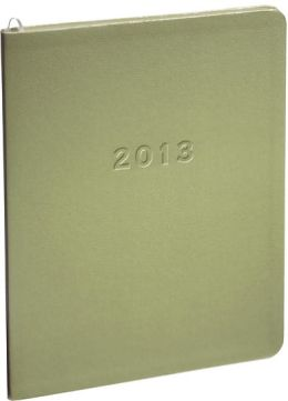 2013 Monthly Large Pale Green Sand Planner