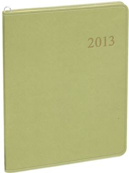 2013 Monthly Large Pale Green Cartier Planner