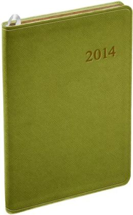 2014 Weekly Desk Pale Green Cartier Planner