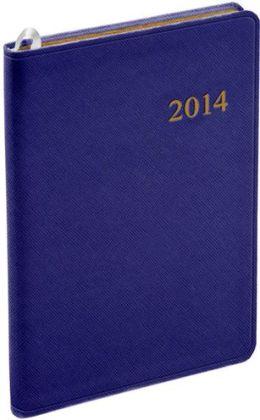 2014 Weekly Desk Purple Cartier Planner