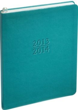 2014 Weekly Large Family Teal Sand Planner