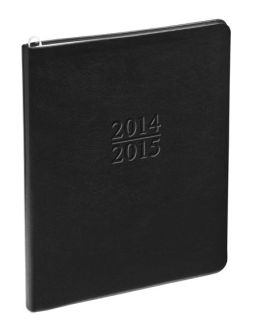 2015 Large Academic Black Cambridge Planner