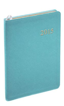 2015 Weekly Desk Blue Cartier Planner