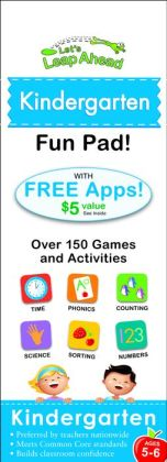 Let's Leap Ahead: Kindergarten Fun Pad