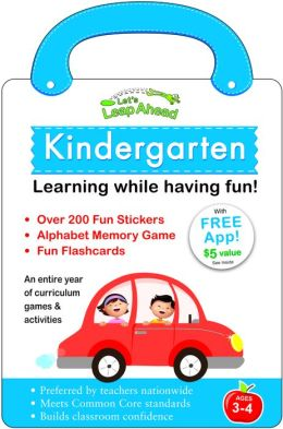 Let's Leap Ahead: Kindergarten Learning While Having Fun!