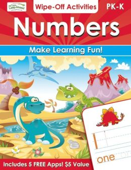 Numbers Wipe-Off Activities: Endless fun to get ready for school!
