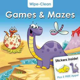 Wipe-Clean: Games & Mazes