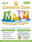 Book Cover Image. Title: Common Core Math Enrichment Program Grade 3, Author: Alex A. Lluch