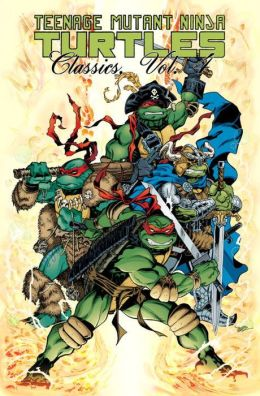 Teenage Mutant Ninja Turtles Classics, Volume 4