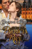 Book Cover Image. Title: The Genuine Article (Regency Nobles Series, Book 1), Author: Patricia Rice