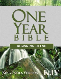 One Year Bible Beginning to End: King James Version (KJV)