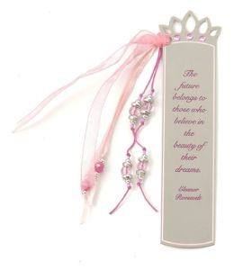 Tiara Future Quote Metal Bookmark