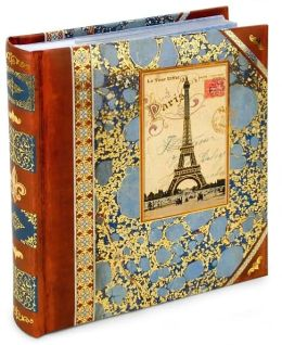 Eiffel Tower Foiled Two Up Photo Album