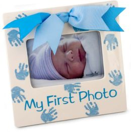Prince First Photo Ceramic Blue and White Frame-(7