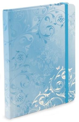 Turquoise Butterfly Lined Journal (6