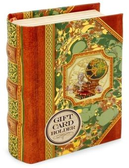 Globe Book Box Gift Card Holder