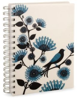 Blackbird Pearl Lined Journal 6x8