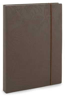 Earth 100% Recycled Paper Embossed Italian Lined Bound Journal 6 X 8