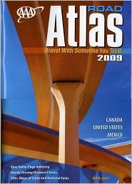 AAA Road Atlas 2009
