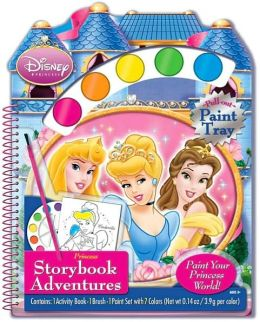 Disney Princess: Princess Storybook Adventures, Paint Your Princess World