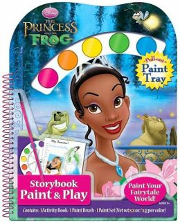 DisneyThe Princess and the Frog: Diecut Book with Pull-Out Paint Palette