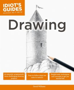 Idiot's Guides: Drawing (PagePerfect NOOK Book)