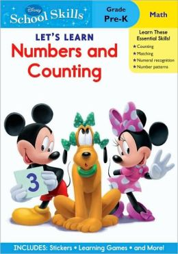 Mickey Mouse Clubhouse Let's Learn Numbers & Counting