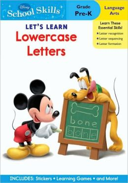 Mickey Mouse Clubhouse Let's Learn Lowercase Letters