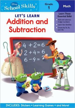 Let's Learn Addition & Subtraction, Grade 1