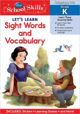 Let's Learn Sight Words & Vocabulary - Kindergarten