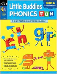 Little Buddies Phonics Fun: Book 6 Consonant Pairs (st, cr, sh, gr, ch sl)