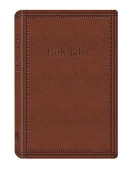 KJV Deluxe Gift & Award Bible (DiCarta Brown)