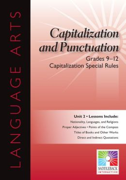 Capitalization Special Rules Interactive Whiteboard Resource