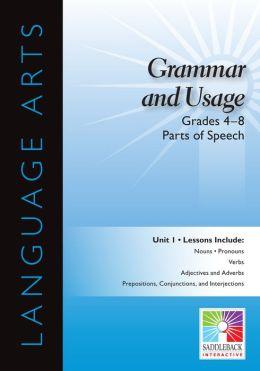Parts of Speech Interactive Whiteboard Resource