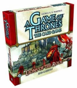 A Game of Thrones the Card Game: Lions of the Rock Deluxe Expansion