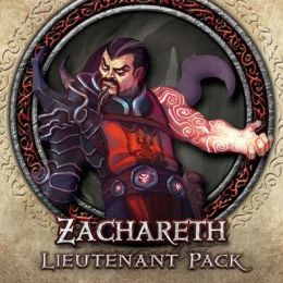 Descent Second Edition: Zachareth Lieutenant Miniature
