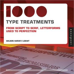 1,000 Type Treatments (PagePerfect NOOK Book)