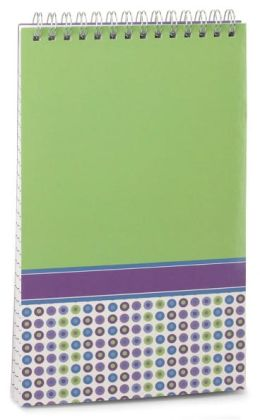 Lime Lined Steno Pad (5