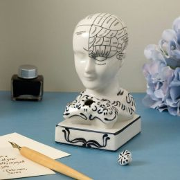 Phrenology Inkwell Desk Accessory